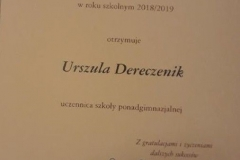 dyplom, Ula